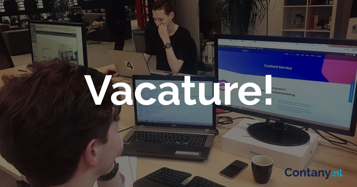 Vacatures contany.nl