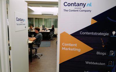 Een dag in het leven van… een contentmarketeer bij Contany